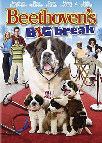 Beethoven's Big Break (Widescreen/Fullscreen) DVD Movie
