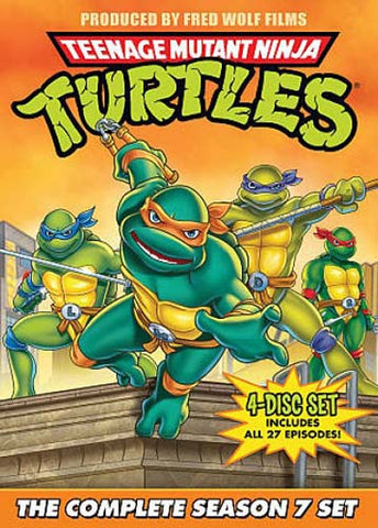 Teenage Mutant Ninja Turtles - The Complete Season 7 (Boxset) DVD Movie