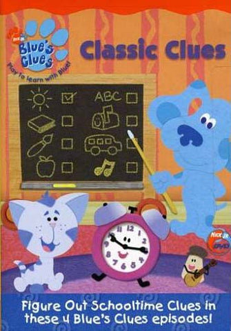 Blue's Clues - Classic Clues DVD Movie