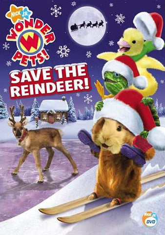 Wonder Pets - Save The Reindeer DVD Movie