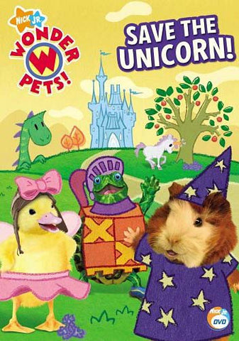 Wonder Pets - Save The Unicorn (With Free Math Made Easy Workbook) DVD Movie
