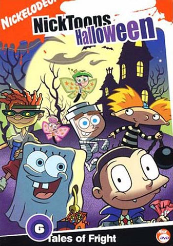 Nicktoons - Halloween - 6 Tales Of Fright DVD Movie