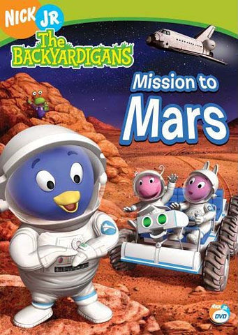 The Backyardigans - Mission To Mars DVD Movie