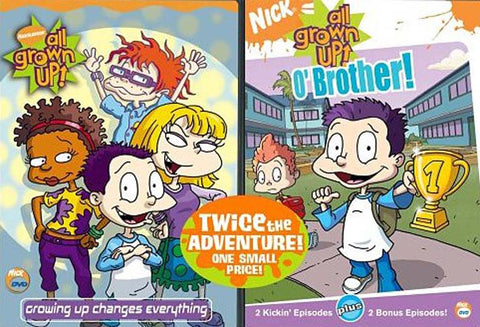 Nick - All Grown Up! - O  Brother / Growing Up Changes Everything (2 Pack) (Boxset) DVD Movie