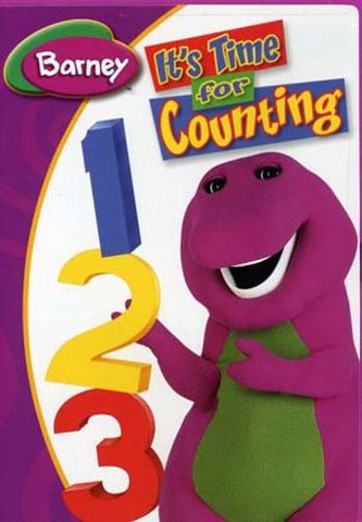 Barney - It's Time For Counting DVD Movie
