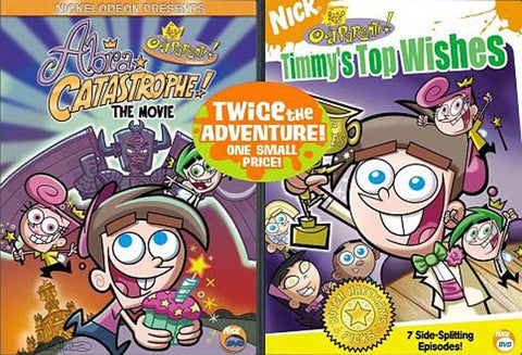 The Fairly Odd Parents - Abra-Catastrophe! The Movie / Timmy s Top Wishes (2 Pack) (Boxset) DVD Movie