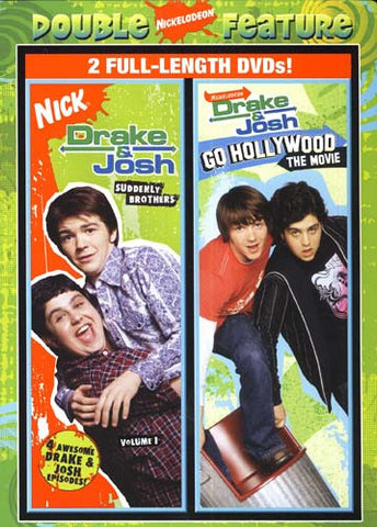 Drake And Josh - Suddenly Brothers / Go Hollywood The Movie (Double Feature) DVD Movie