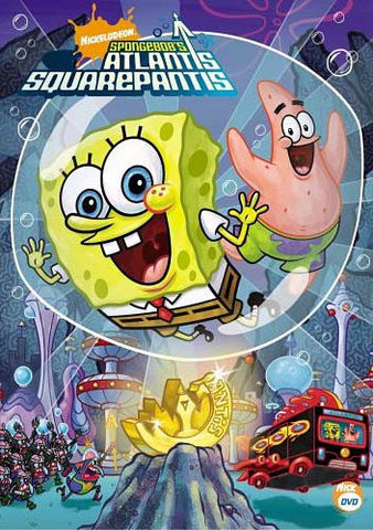 SpongeBob SquarePants - SpongeBob's Atlantis SquarePantis DVD Movie