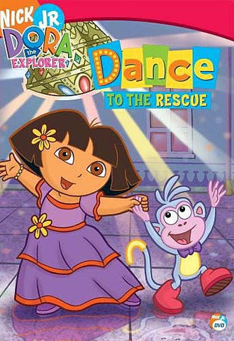 Dora The Explorer - Dance to the Rescue (with Free Book) DVD Movie