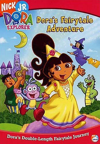 Dora The Explorer - Fairytale Adventure (with Free Book) DVD Movie