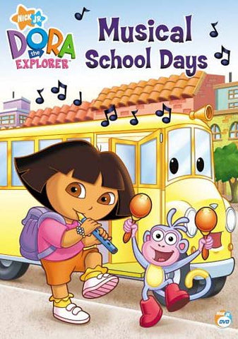 Dora The Explorer - Musical School Days DVD Movie