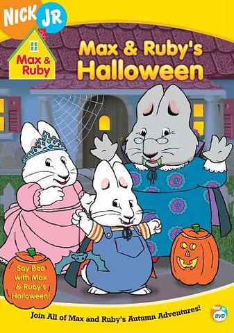 Max And Ruby - Max And Ruby's Halloween! DVD Movie