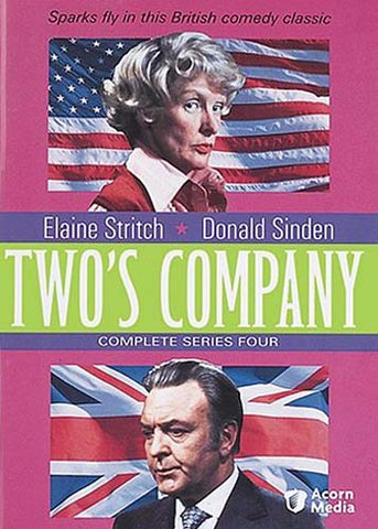 Two's Company - Complete Series 4 DVD Movie