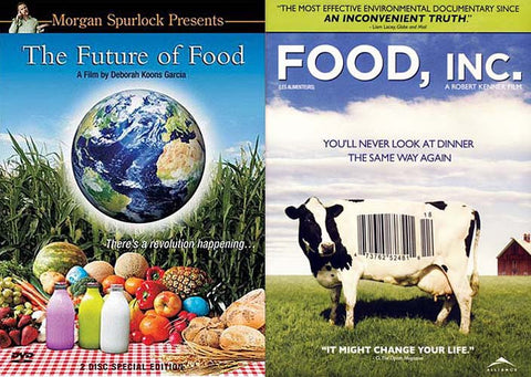 The Future of Food (Two Disc Special Edition) /Food Inc. (2 Pack) DVD Movie