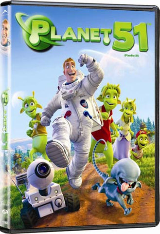 Planet 51(bilingual) DVD Movie