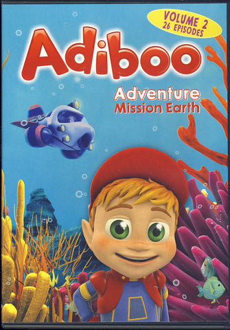 Adiboo - Adventure Mission Earth (Vol - 2) DVD Movie