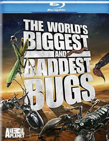 The World's Biggest and Baddest Bugs (Blu-ray) BLU-RAY Movie