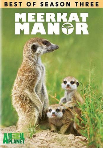The Best Of Season 3 - Meerkat Manor DVD Movie