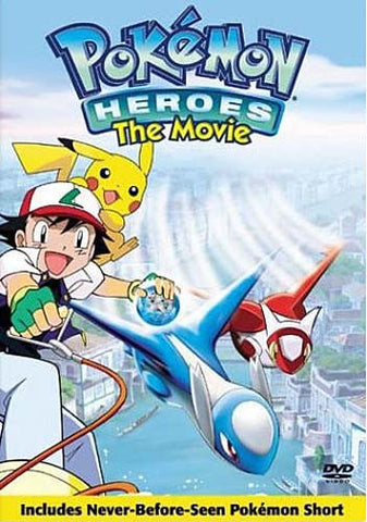 Pokemon - Heroes - The Movie (Bilingual) DVD Movie