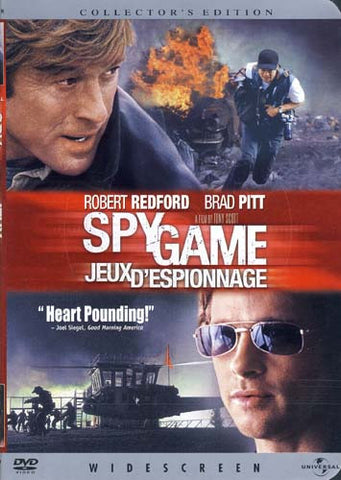Spy Game - Collector s Edition (Widescreen Edition)(Bilingual) DVD Movie