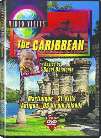 Video Visits - The Caribbean - Martinique, St. Kitts, Antigua, US Virgin Islands DVD Movie