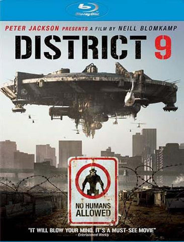 District 9 (Blu-ray) (USED) BLU-RAY Movie