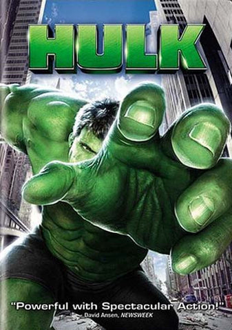 Hulk (Widescreen) (Bilingual) DVD Movie
