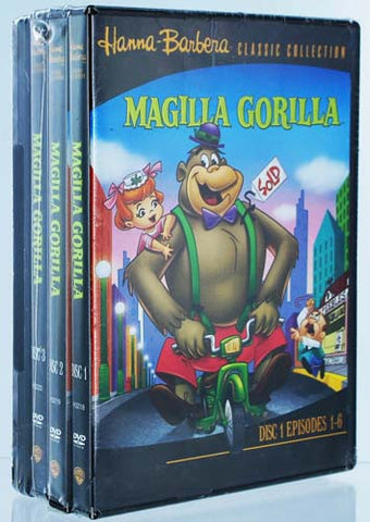 Magilla Gorilla (4 Pack) DVD Movie