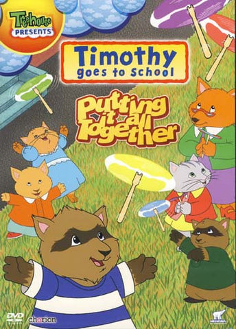 Timothy Goes To School - Putting It All Together (Treehouse) DVD Movie