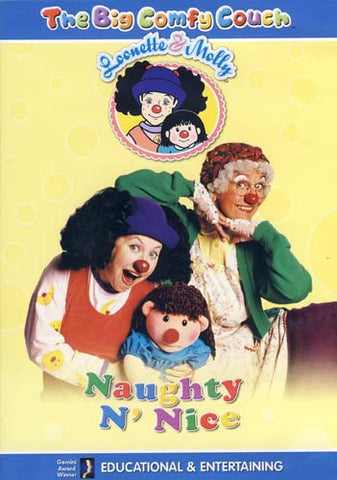 Big Comfy Couch - Naughty N' Nice DVD Movie