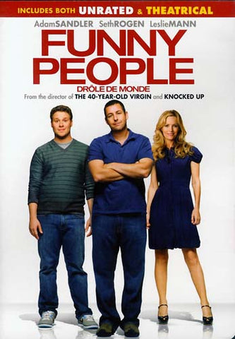Funny People (Drole de Monde) (Unrated And Theatrical Version) (Bilingual) DVD Movie