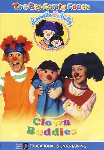 The Big Comfy Couch - Clown Buddies DVD Movie