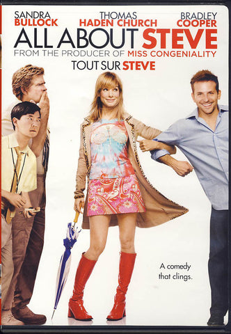 All About Steve (Tout Sur Steve) DVD Movie