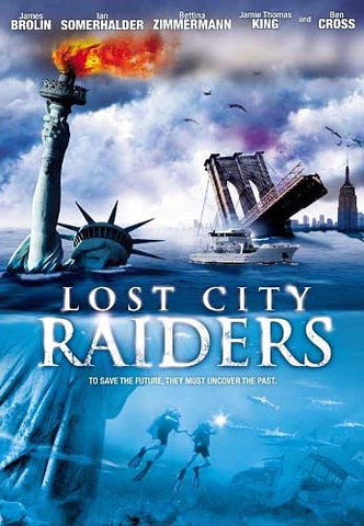 Lost City Raiders DVD Movie