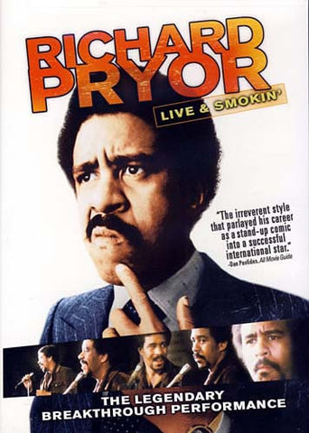 Richard Pryor - Live And Smokin' DVD Movie