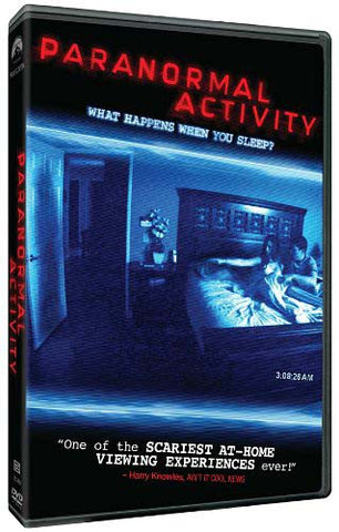 Paranormal Activity DVD Movie