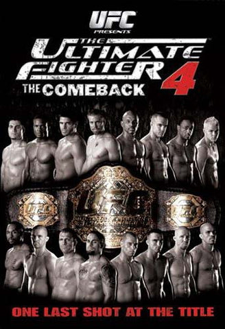 The Ultimate Fighter - 4 - The Comeback (Boxset) DVD Movie