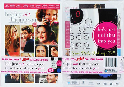 He's Just Not That Into You (With Your Daily Wake Up Call Book) (Boxset) DVD Movie