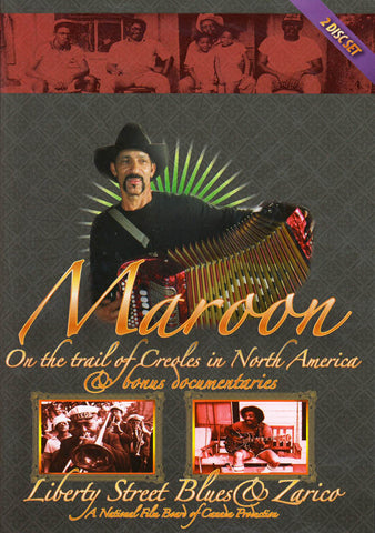 Maroon / Liberty Street Blues / Zarico DVD Movie