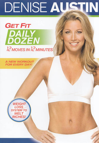 Denise Austin - Get Fit Daily Dozen (Maple) DVD Movie