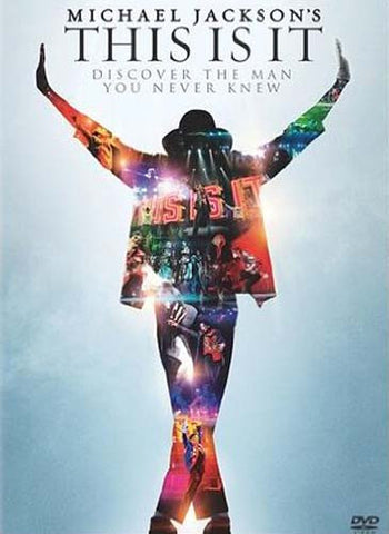 Michael Jackson - This Is It DVD Movie