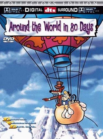 Around The World In 80 Days (Animated Version) DVD Movie