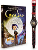 Coraline (Gift Pack DVD And Coraline Watch) (Boxset) (USED) DVD Movie