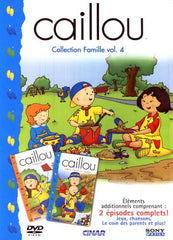 Caillou - Collection Famille Vol. 4 (French Only)
