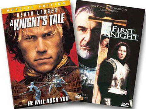 A Knight s Tale (Special Edition) / First Knight (The Knight Pack) (2 - Pack) (Boxset) DVD Movie