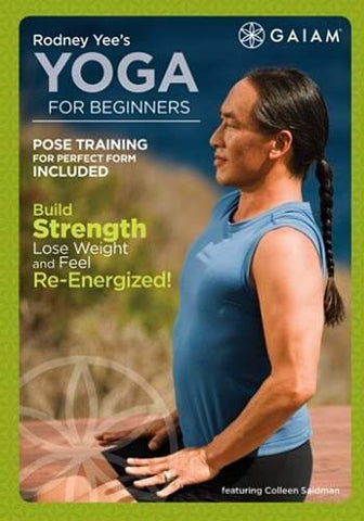 Rodney Yee's Yoga For Beginners DVD Movie