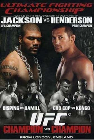 Ultimate Fighting Championship - UFC Vol.75 - Champion vs. Champion DVD Movie