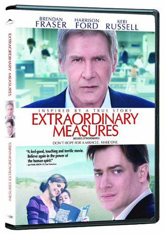 Extraordinary Measures (Bilingual) DVD Movie