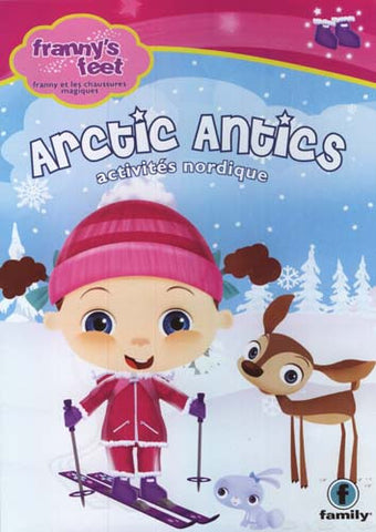 Franny s Feet - Arctic Antics (Bilingual) DVD Movie