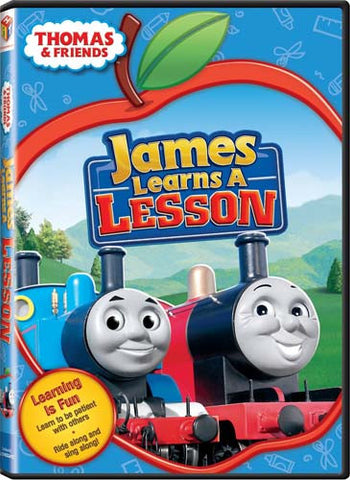 Thomas And Friends - James Learns A Lesson And Other Thomas Adventures DVD Movie